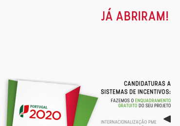 Abertas as candidaturas ao Portugal 2020